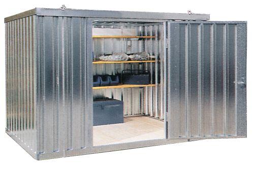 Novodin mica caseta para almacenamiento exterior de for Casetas de chapa para jardin segunda mano