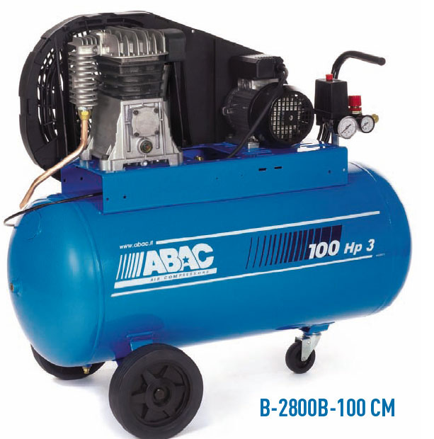 Abac b 2800 100 cm compresor de aire port til monoetapa - Compresor de aire portatil ...