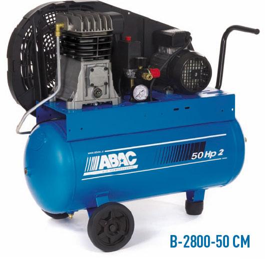 Abac b 2800 50 cm compresor de aire port til monoetapa - Compresor de aire portatil ...