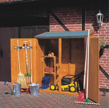 Nortene armario jardin herramientas 413150 for Cobertizo de herramientas