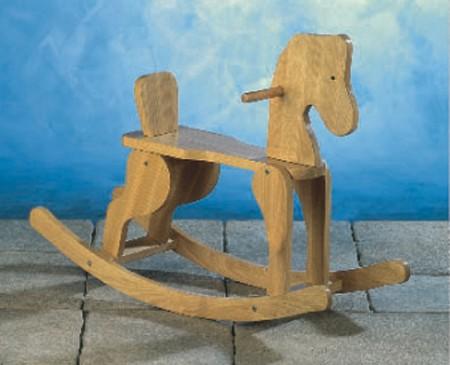 Seifil percan caballito de madera para ni os 413141 for Juguetes para jardin infantil
