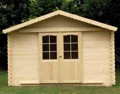 Seifil percan caseta carla jardin de madera 420052 for Caseta madera jardin