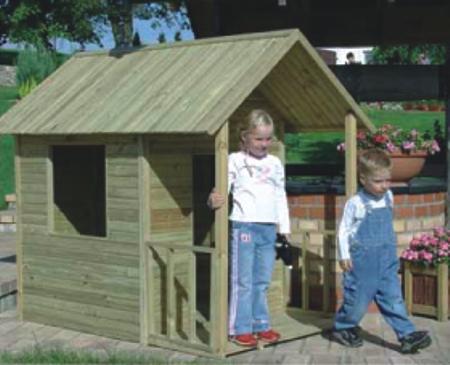 Nortene casita heidi para ni os 413244 for Casitas infantiles para jardin baratas