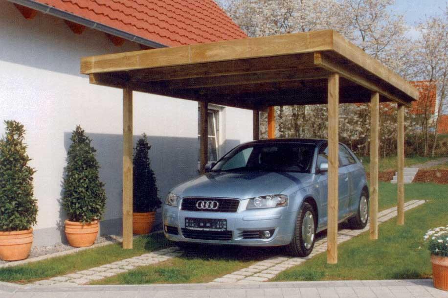 Nortene garaje i pergola de madera 510 x 304 413600 for Imagenes de garajes rusticos