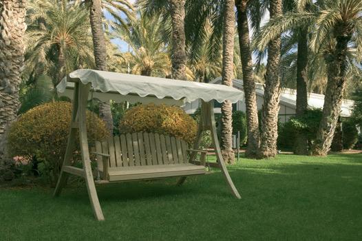 Catral balanc n de madera romans 90110 for Balancines de jardin