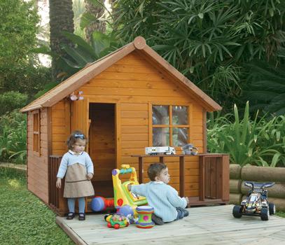 Catral casa de madera m gica para ni os 90345 for Casas infantiles de madera para jardin