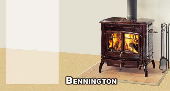 Hergom estufa de le a bennington - Salones con estufas de lena ...