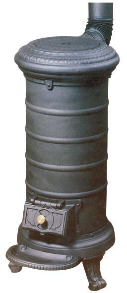 Tortuga estufa de hierro fundido para le a y carb n t for Estufa hierro fundido