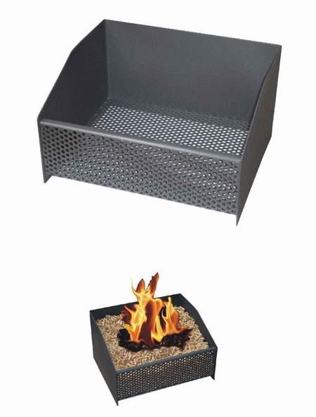 Juan panadero cesta quemador de pellets - Panier a pellet pour insert ...