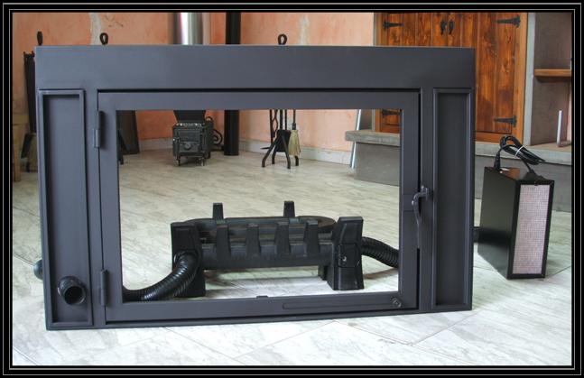 Puertas para chimeneas de obra a medida for Puertas insonorizadas para el hogar