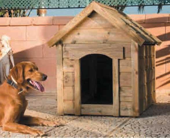 Catral caseta de perro madera - Caseta perro madera ...