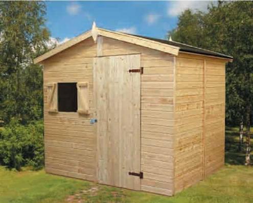 Palmako caseta madera jardin christa 2 eco 12 - Caseta de madera para jardin ...