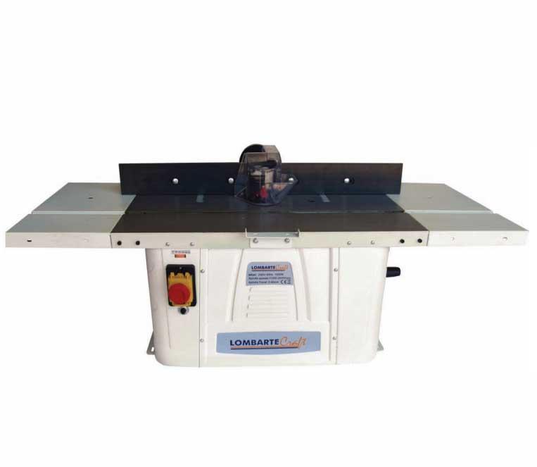 Lombarte mr40v tupi para madera fresadora de mesa for Mesa para fresadora