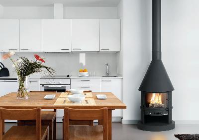 Abe traforart pitufa chimenea clasica moderna estufa for Estufa hogar moderna
