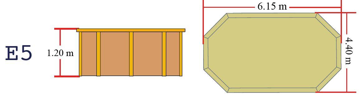 Quimicamp piscina prefabricada de madera 615305e for Quimicamp piscinas