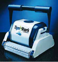Quimicamp tiger shark robot limpiafondos electrico para piscina - Limpiafondos piscina electricos ...