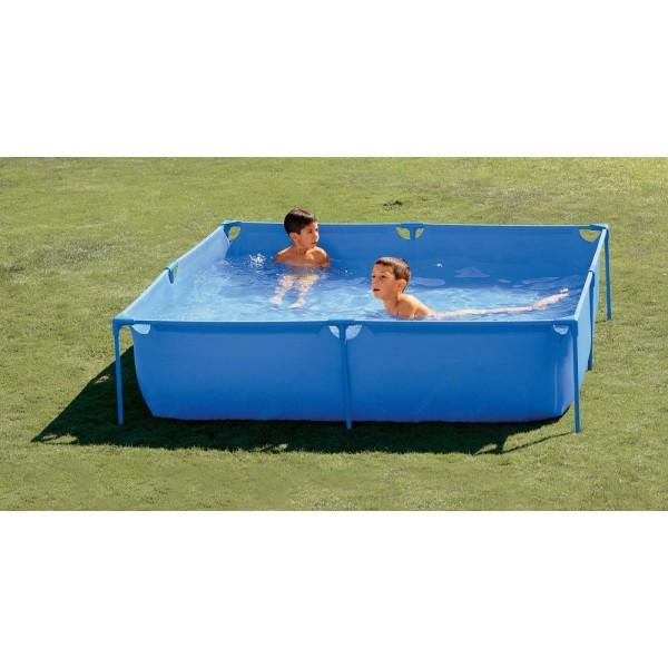 Toi 3153 piscina basics tubular desmontable en kit for Piscina tubular