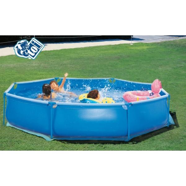 Toi 8508 complet piscina desmontable tubular for Piscina tubular