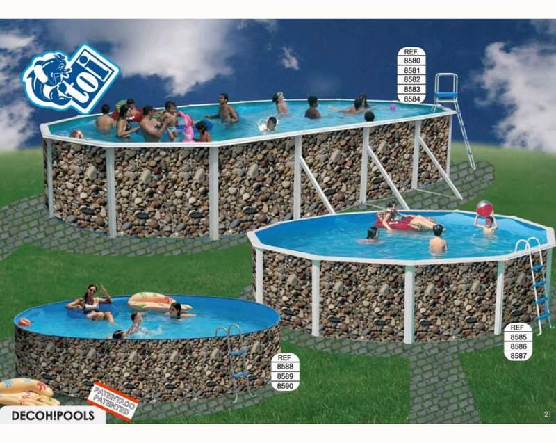 Toi 8582 piscina rigida ovalada rio for Piscina rigida