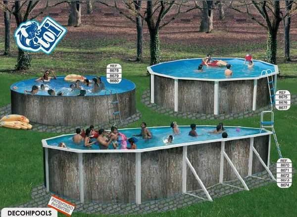Toi 8680 sapin piscina r gida redonda for Funda piscina redonda