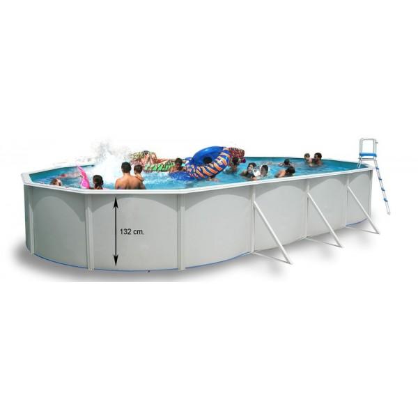 Toi 8806 magnum piscinas ovaladas de superficie - Piscinas desmontables rigidas ...