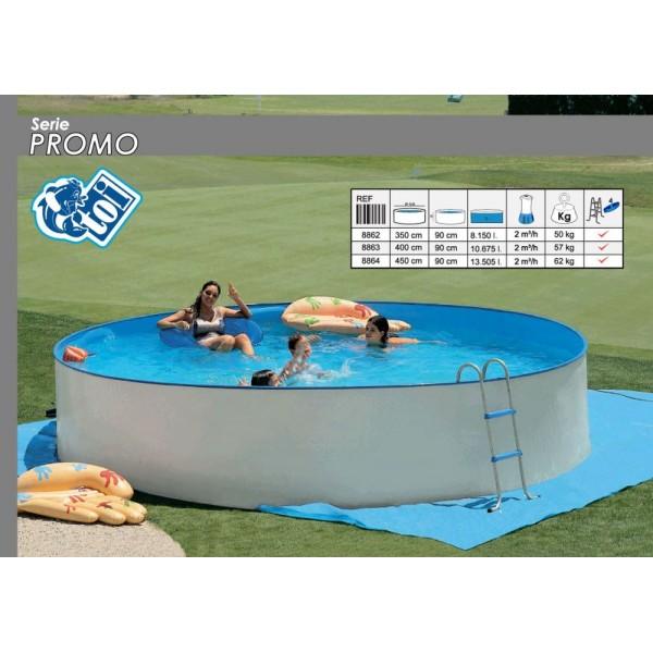 Toi 8862 piscinas promo venta on line redondas rigidas for Piscinas desmontables rigidas