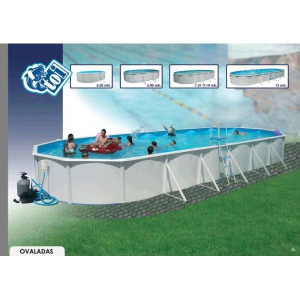 Toi 8930 piscinas rigidas sobre suelo ovaladas for Piscinas desmontables rigidas