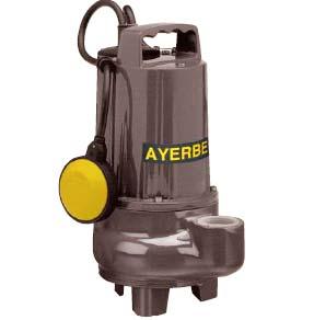 Ayerbe ay 1035 vxc mn electro bomba sumergible aguas - Bombas aguas sucias ...