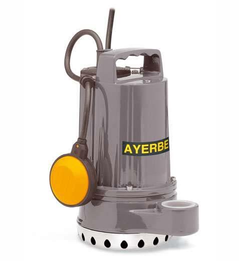 Ayerbe ay 400 dc15 hf bomba sumergible aguas limpias - Bombas de agua sumergibles pequenas ...