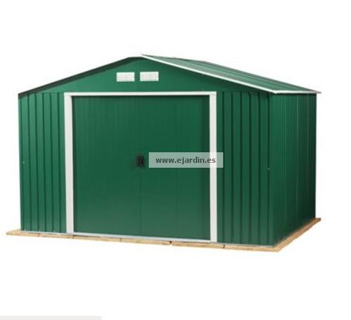 duramax colossus cobertizo metalico jard n 10 10 9 70 m2