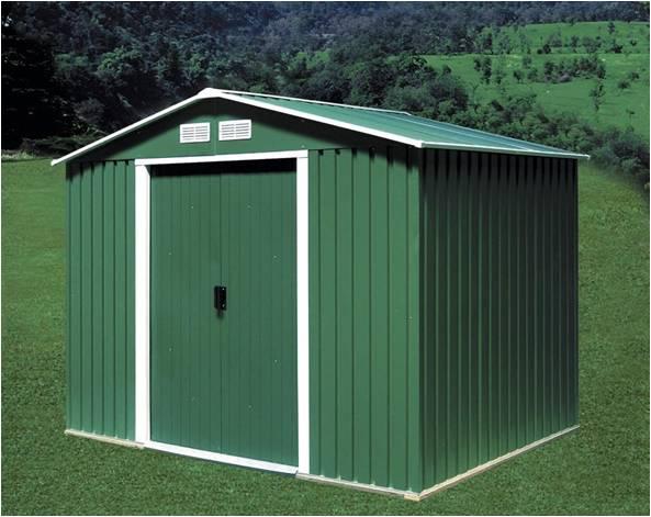 Duramax cobertizo metal titan 8x8 6 m2 - Casetas de metal ...