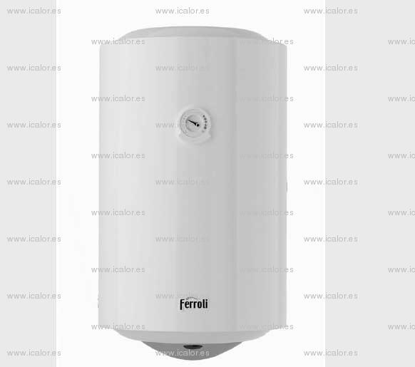 Ferroli titano 150 termo electrico agua caliente anodo - Termo electrico agua ...