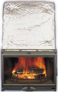 Lacunza chimenea calefactora por agua irache for Chimenea calefactora