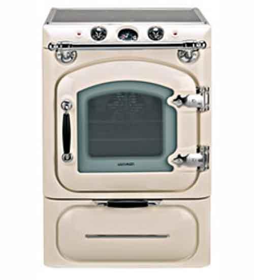 Lacunza cocina gas century crema herrajes cromo for Cocinas de gas butano rusticas