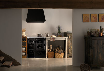 Lacunza cocina calefactora cerrada lis7 te3 abierta for Cocina calefactora lacunza