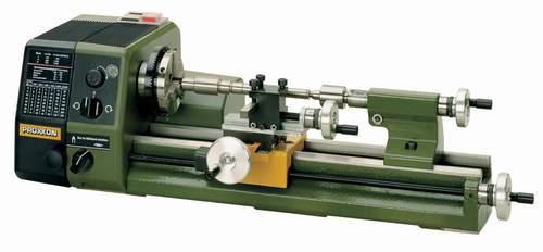 Proxxon pd230e mini torno de precision para metal 230 mm for Mini tornio proxxon