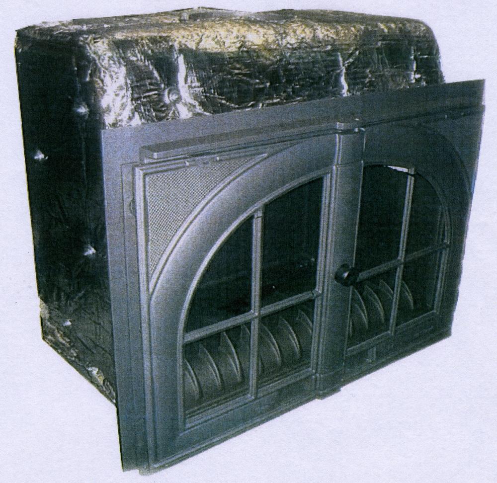 Lacunza chimenea calefactora por agua sara for Chimenea calefactora