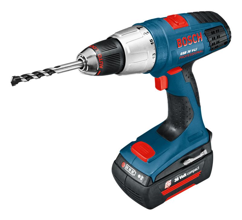 Bosch gsb 36 v li profesional taladro atornillador a - Taladro atornillador bateria ...