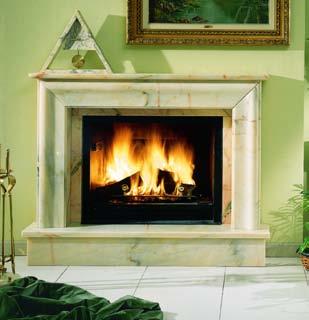 Fugar chimenea ronda frontal moldura marmol - Molduras para chimeneas ...