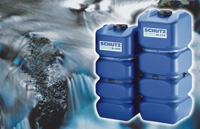 Schutz deposito para agua aquablock soplado 1000 l - Depositos de agua potable precios ...