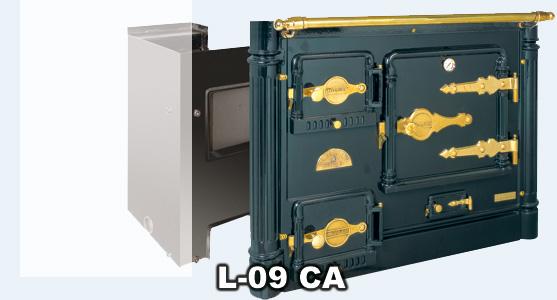 Hergom l 09 ca cocina calefactora abierta bilbaina for Pailas para cocinas calefactoras
