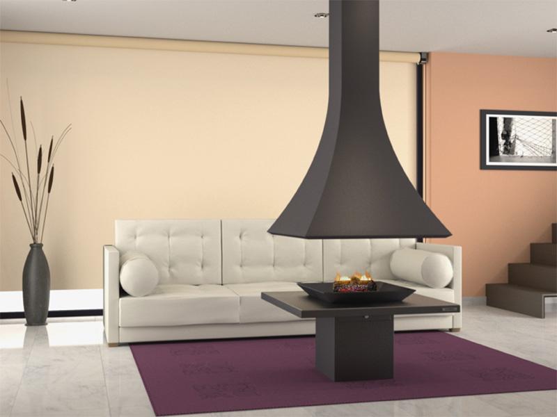 focgrup ch 91 chimenea central de le a. Black Bedroom Furniture Sets. Home Design Ideas