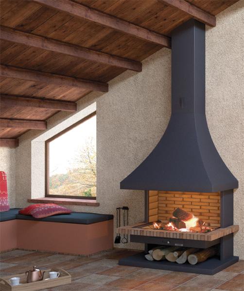 focgrup ch32 chimenea de le a frontal. Black Bedroom Furniture Sets. Home Design Ideas