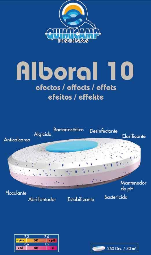Quimicamp alboral 10 efectos pastillas de 250 gr 5 kg 201205 for Quimicamp piscinas
