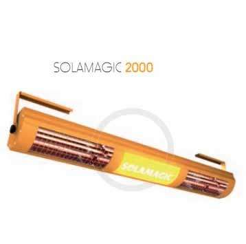Solamagic 2000 anuncio calefaccion para exteriores - Estufas exteriores para terrazas ...