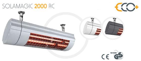 Solamagic eco 2000 rc estufas de exterior para bares for Estufas para terrazas