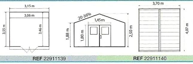 Grosfillex linea deco 11 garden home casa jardin pvc 11 for Las medidas de una casa libro