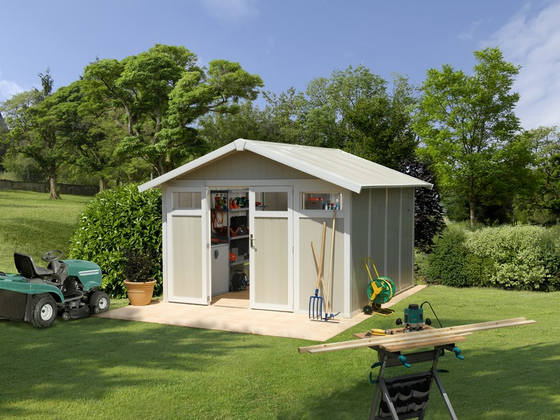 Grosfillex linea utility 11 garden home casa de jardin for Caseta de jardin grosfillex