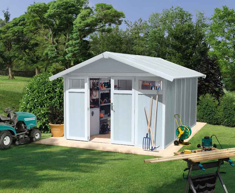 Casetas de pvc para exterior affordable grosfillex linea for Casetas pvc exterior segunda mano