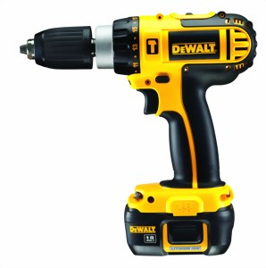 Dewalt dc722c2 taladro atornillador sin cable 18 v dc for Taladro electrico sin cable